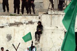 Hamas Rally Marks the Anniversary of the Death of Its Leaders in Gaza