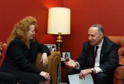 "Sen. Schumer meets with new ""Air Czar"" in Washington"