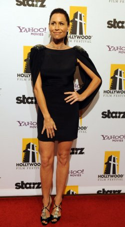 Mimi Rogers attends the 14th annual Hollywood Film Festival Awards in Beverly Hills, California
