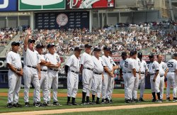 New York Yankees Old Timers' Day at Yankees Stadium in New York