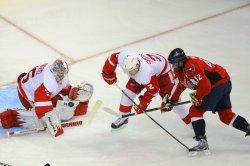 Washington Capitals vs Detroit Red Wings in Washington