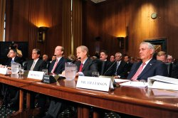 Oil Executive Testify in Washington