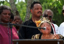Jesse Jackson Marches In Kokomo