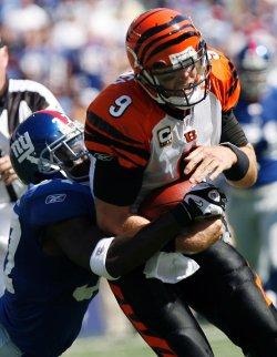 Cincinnati Bengals at New York Giants NFL Week 2