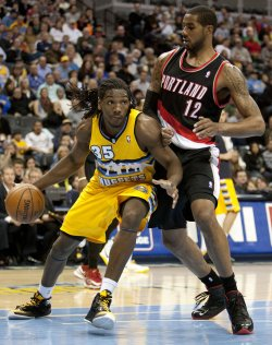 Portland Trailblazers vs Denver Nuggets