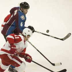 Detroit Red Wings vs Colorado Avalanche in Denver