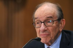 Alan Greenspan testifies in Washington