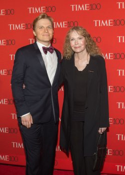 Ronan and Mia Farrow arrives at the TIME 100 Gala in New York