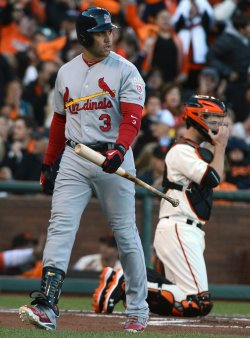 St. Louis Cardinals vs San Francisco Giants in NLCS Game Six in San Francisco