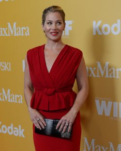Christina Applegate attends the Women in Film Crystal + Lucy Awards in Beverly Hills, California