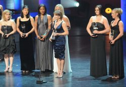 The United Sates Olympic Hall of Fame induction ceremony in Chicago