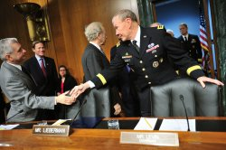 Chairman Dempsey testifies on Syria in Washington, D.C.