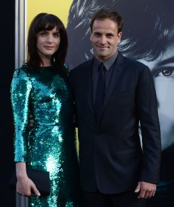 "Jonny Lee Miller and Michele Hicks attend the ""Dark Shadows"" premiere in Los Angeles"