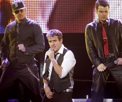 New Kids on the Block perform in concert in San Diego