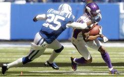 Indianapolis Colts vs Minnesota Vikings in Indianapolis