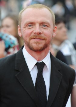 "Simon Pegg attends ""National Movie Awards"" in London"