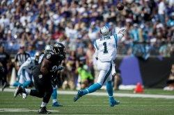 Carolina Panthers vs Baltimore Ravens in Baltimore