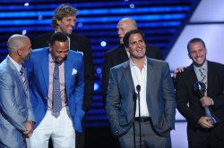 Dallas Mavericks accept Best team award at the ESPY Awards in Los Angeles