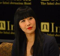 Actress Vivian Bang Visits Israel