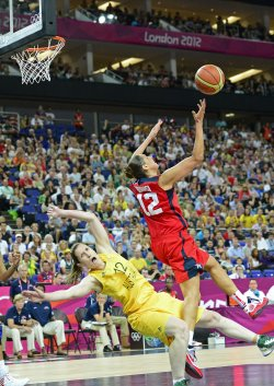 Women's Basketball Semifinal at the London 2012 Summer Olympics