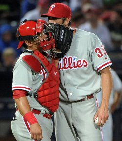 The Atlanta Braves play the Philadelphia Phillies in Atlanta