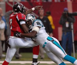 ATLANTA FALCONS VS CAROLINA PANTHERS