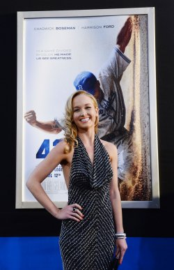 """Kelly Jackle attends the """"42"""" premiere at in Los Angeles"""