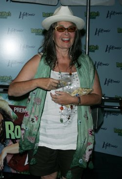 """Roseanne Barr promotes her new Lifetime TV show """"Roseanne's Nuts"""" in New York"""