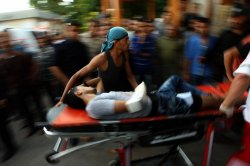 Palestinian Rushed to Hospital After Clash with Israeli Security Forces