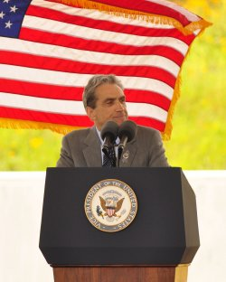 Dedication of Flight 93 National Momerial in Shanksville, Pennsylvania