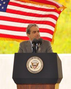 Dedication of Flight 93 National Momerial in Shanksville, Pennsylvania