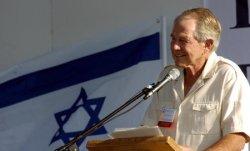 DR. PAT ROBERTSON SPEAKS AT A PRAYER EVENT IN JERUSALEM