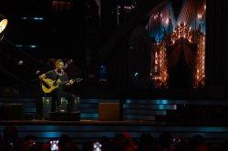 Ricardo Arjona performs at the 2017 Billboard Latin Music Awards