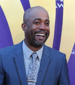 Musician Darius Rucker arrives at the Academy of Country Music Awards in Las Vegas