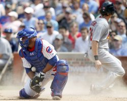 Cardinals Rasmus Scores Past Cubs Castillo
