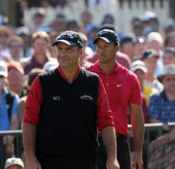 Playoff round of the US Open at Torrey Pines Golf Course in San Diego
