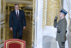 Bronislaw Komorowski sworn-in as President of Poland