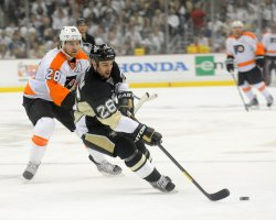 Penguins vs Flyers in Pittsburgh