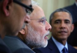 President Obama and Indian PM Modi meet in Washington, D.C.