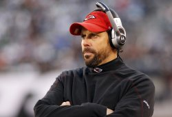 Kansas City Chiefs head coach Todd Haley at MetLife Stadium in New Jersey