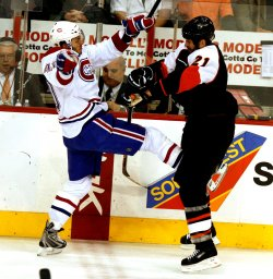 Montreal Canadians vs Philadelphia Flyers