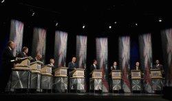 Republicans presidential candidates debate in Iowa