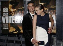 Brian 'Sene' Marc and Morgan Saylor at 'White Girl' Premiere