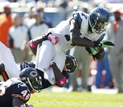 Seahawks Williams tackled against Bears in Chicago