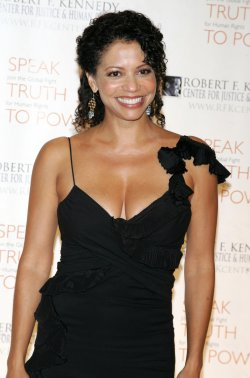 Gloria Reuben arrives for the Ripple of Hope Gala in New York