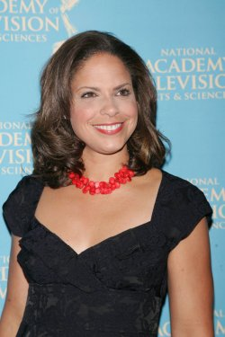 Soledad O'Brien arrives for the News and Documentary Emmy Awards in New York