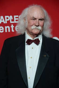 David Crosby attends the MusiCares Person of the Year gala in Los Angeles