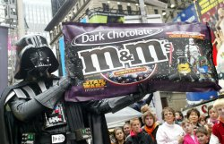 M&M'S UNVIELS STAR WARS THEMED CANDIES