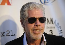 Ron Perlman attends the Sons of Anarchy, Season 4 premiere screening in the Hollywood