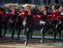San Francisco 49ers Gold Rush entertain